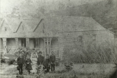 C S Clarke home. Collingwood Family group