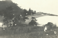 Angus Matheson home in foreground c1910