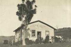 Matheson home, 1927 moved to Goat Island from Matheson Bay