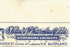 Shaw's Pharmacy, Auckland City