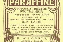 Wilkinson Chemist Dunedin Paraffine