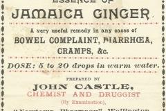 Castle Label. Wellington Ginger