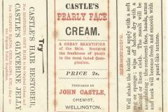 Castle Label. Wellington Pearly Face