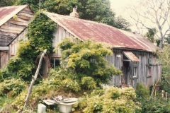 David Darroch home, rear Big Omaha Whangateau c 1985 2